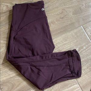 Lululemon, Train Times Yoga Pants Cropped